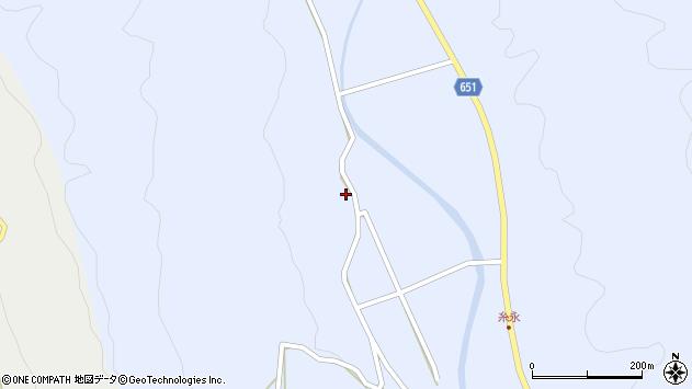 大分県国東市安岐町糸永476周辺の地図