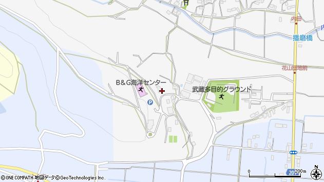 大分県国東市武蔵町内田974周辺の地図