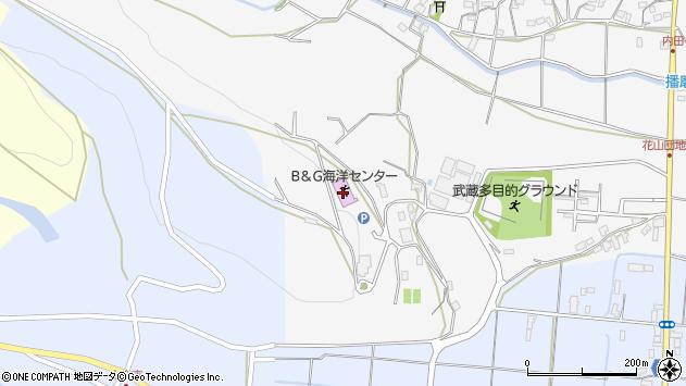 大分県国東市武蔵町内田2420周辺の地図