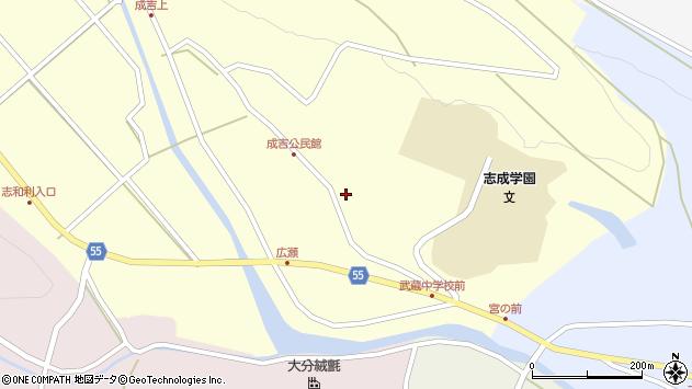 大分県国東市武蔵町成吉723周辺の地図
