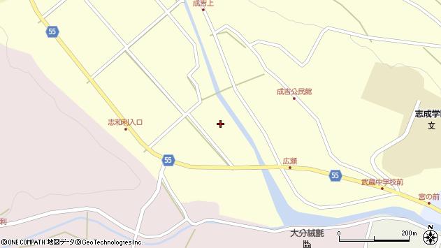大分県国東市武蔵町成吉567周辺の地図