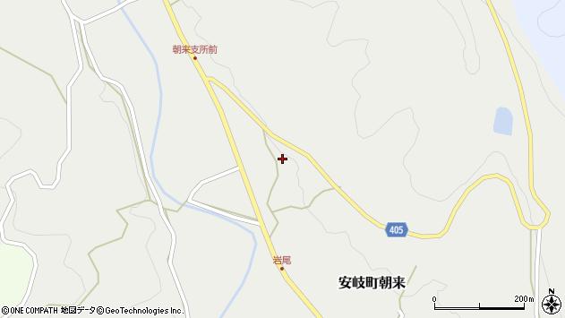 大分県国東市安岐町朝来3282周辺の地図