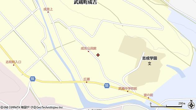 大分県国東市武蔵町成吉718周辺の地図