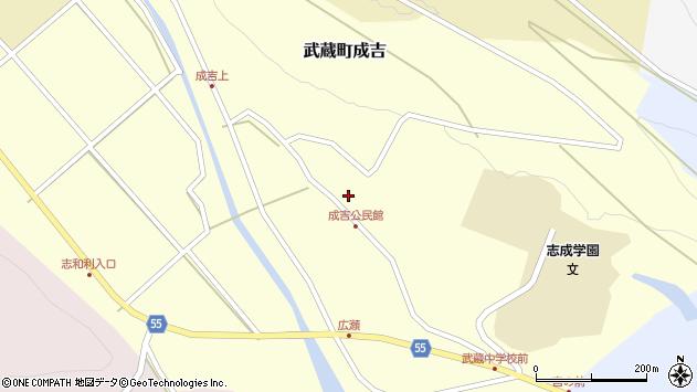 大分県国東市武蔵町成吉702周辺の地図