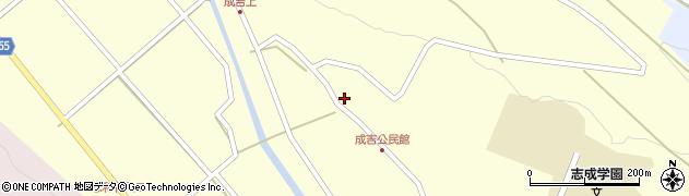 大分県国東市武蔵町成吉683周辺の地図