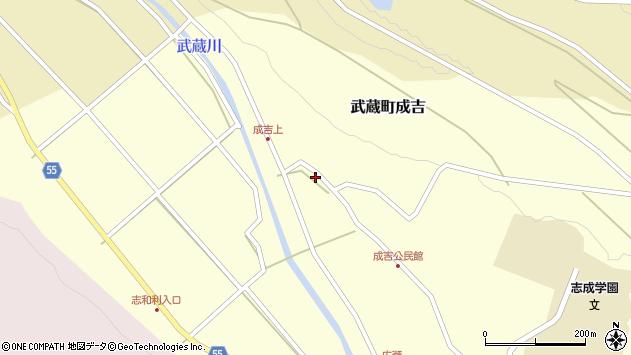 大分県国東市武蔵町成吉602周辺の地図