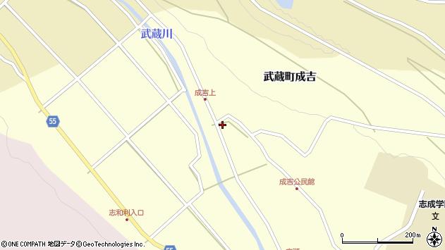 大分県国東市武蔵町成吉603周辺の地図