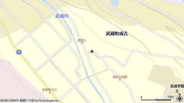 大分県国東市武蔵町成吉651周辺の地図