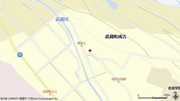 大分県国東市武蔵町成吉606周辺の地図