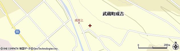 大分県国東市武蔵町成吉635周辺の地図