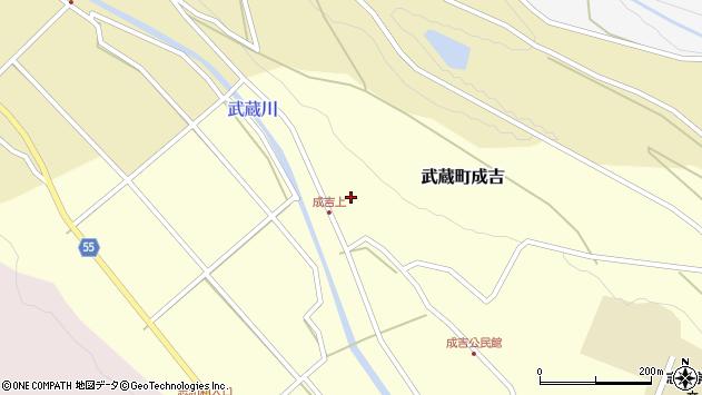 大分県国東市武蔵町成吉623周辺の地図
