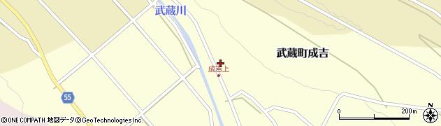 大分県国東市武蔵町成吉617周辺の地図