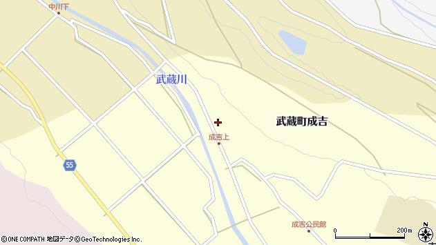 大分県国東市武蔵町成吉622周辺の地図