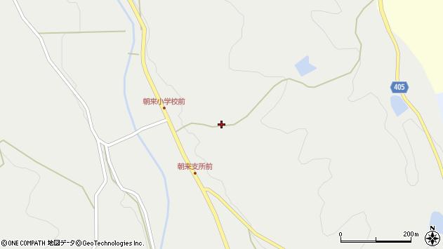 大分県国東市安岐町朝来126周辺の地図