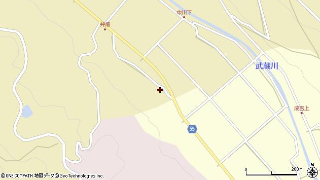 大分県国東市武蔵町手野2100周辺の地図
