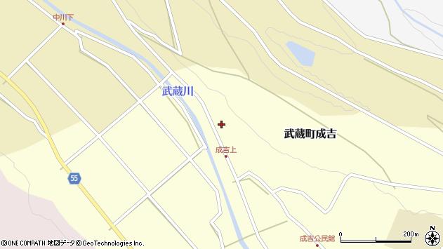 大分県国東市武蔵町成吉1089周辺の地図