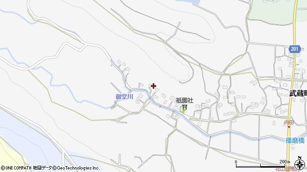 大分県国東市武蔵町内田1532周辺の地図