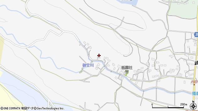 大分県国東市武蔵町内田1527周辺の地図
