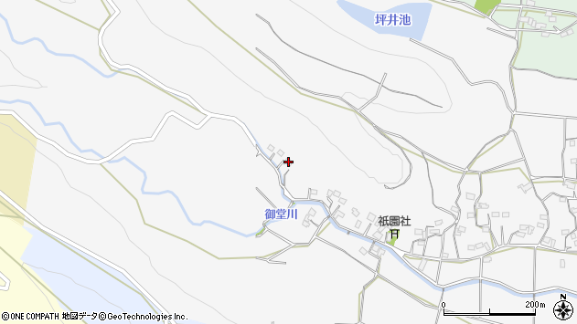 大分県国東市武蔵町内田1511周辺の地図