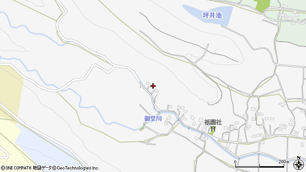 大分県国東市武蔵町内田1509周辺の地図