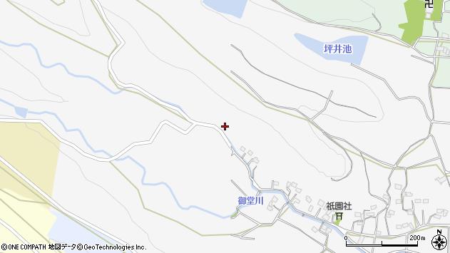 大分県国東市武蔵町内田502周辺の地図