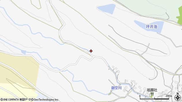 大分県国東市武蔵町内田1491周辺の地図