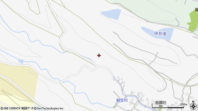 大分県国東市武蔵町内田大上周辺の地図