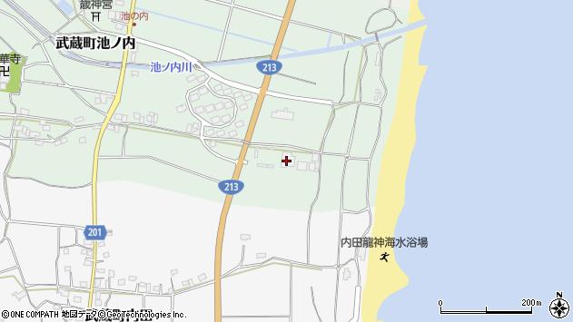 大分県国東市武蔵町池ノ内1806周辺の地図