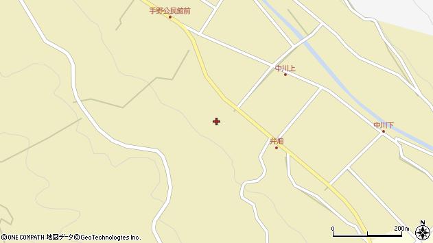 大分県国東市武蔵町手野1789周辺の地図