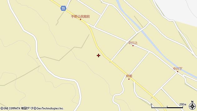 大分県国東市武蔵町手野1763周辺の地図