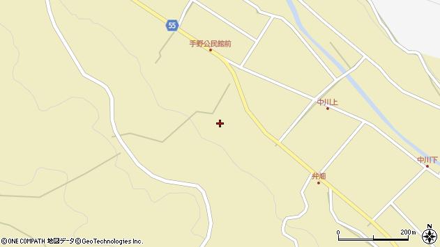 大分県国東市武蔵町手野1751周辺の地図