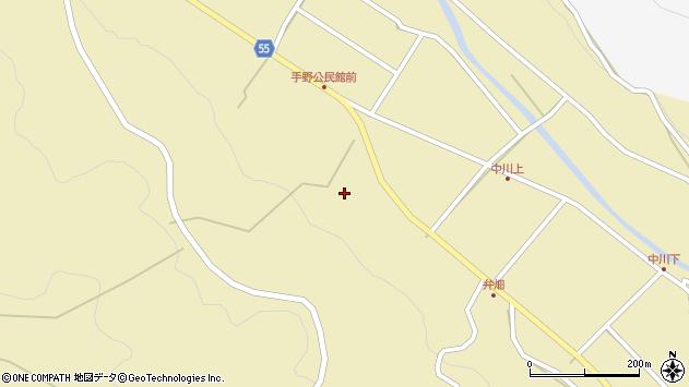 大分県国東市武蔵町手野1752周辺の地図