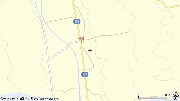 大分県国東市安岐町富清700周辺の地図
