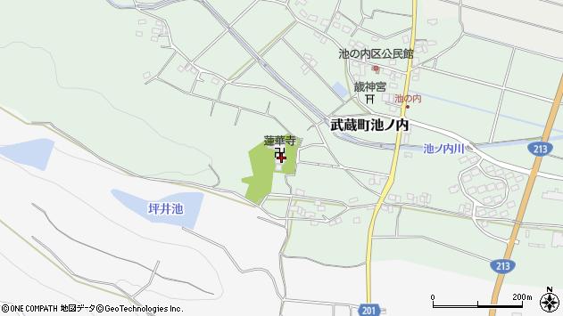 大分県国東市武蔵町池ノ内1708周辺の地図