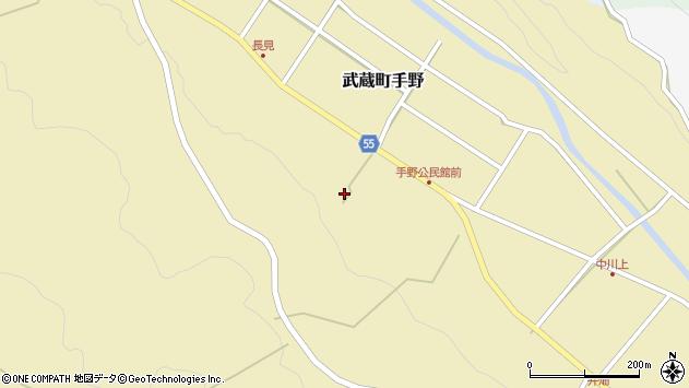 大分県国東市武蔵町手野1604周辺の地図