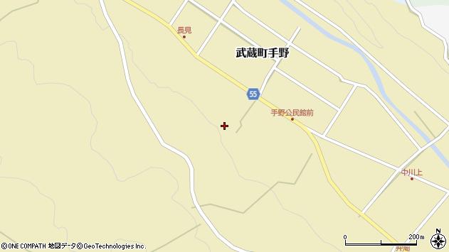 大分県国東市武蔵町手野1594周辺の地図