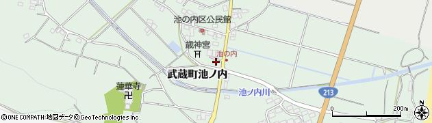 大分県国東市武蔵町池ノ内139周辺の地図