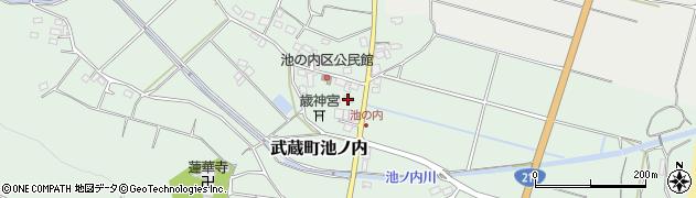 大分県国東市武蔵町池ノ内400周辺の地図