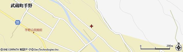 大分県国東市武蔵町手野182周辺の地図