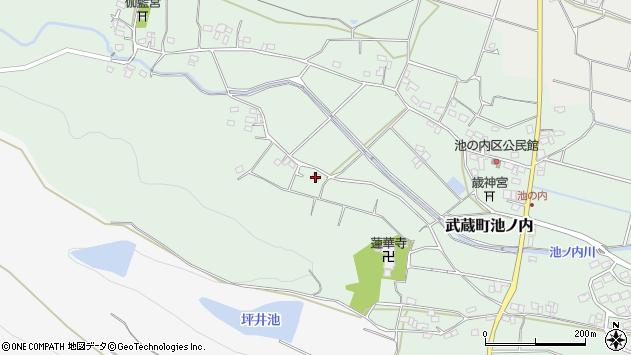 大分県国東市武蔵町池ノ内1287周辺の地図