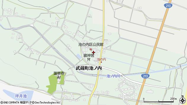 大分県国東市武蔵町池ノ内397周辺の地図