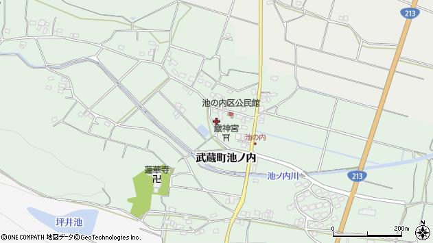 大分県国東市武蔵町池ノ内358周辺の地図