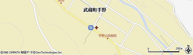 大分県国東市武蔵町手野791周辺の地図
