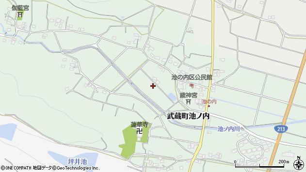 大分県国東市武蔵町池ノ内1400周辺の地図