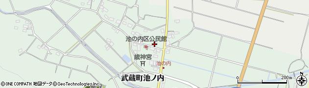 大分県国東市武蔵町池ノ内169周辺の地図