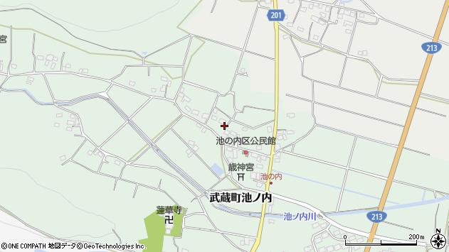 大分県国東市武蔵町池ノ内383周辺の地図