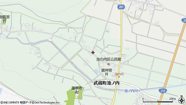 大分県国東市武蔵町池ノ内379周辺の地図
