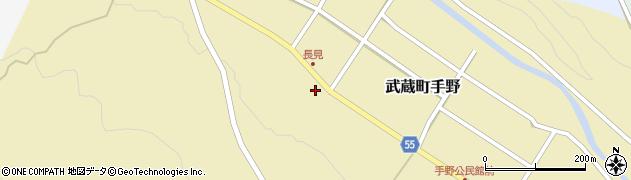 大分県国東市武蔵町手野1446周辺の地図