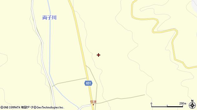 大分県国東市安岐町富清447周辺の地図
