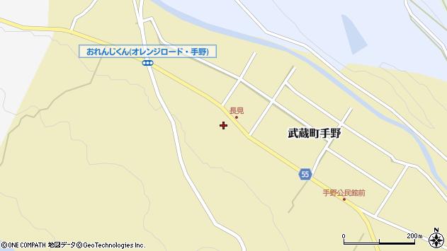 大分県国東市武蔵町手野1437周辺の地図